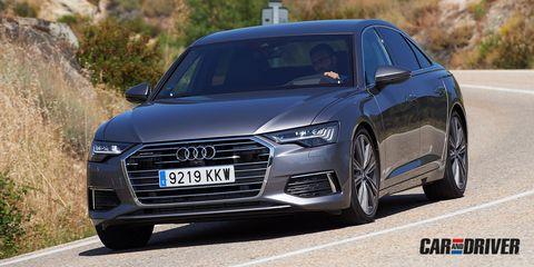Land vehicle, Vehicle, Car, Audi, Executive car, Automotive design, Audi a6, Mid-size car, Luxury vehicle, Sedan,
