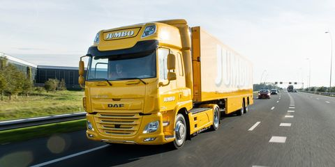 Land vehicle, Transport, Vehicle, Mode of transport, Truck, Commercial vehicle, Yellow, Motor vehicle, Car, Freight transport,