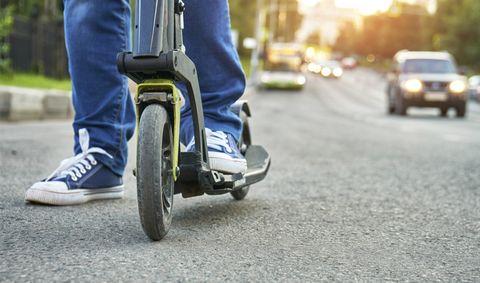 Vehicle, Mode of transport, Transport, Wheel, Jeans, Street fashion, Asphalt, Automotive wheel system, Automotive tire, Road,