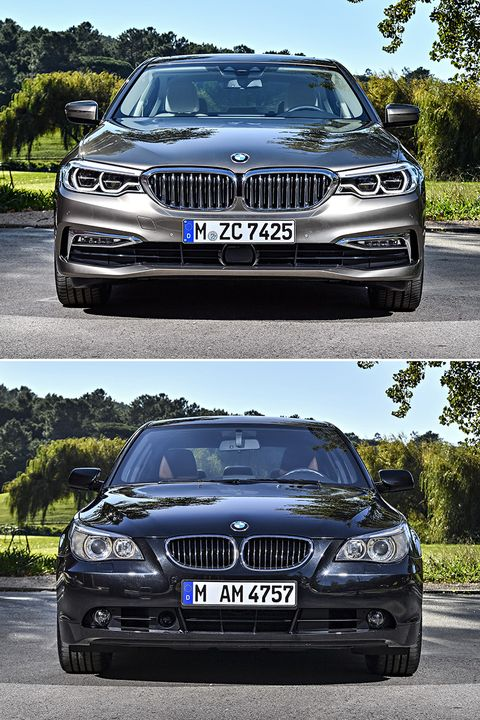 BMW Serie 5 - frontal