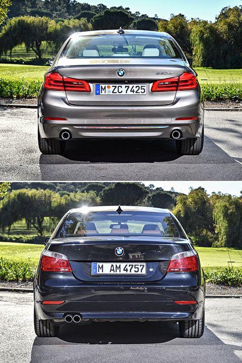 BMW Serie 5 -trasera