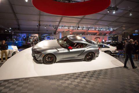 Land vehicle, Vehicle, Car, Auto show, Automotive design, Performance car, Sports car, Personal luxury car, Supercar, Exhibition,