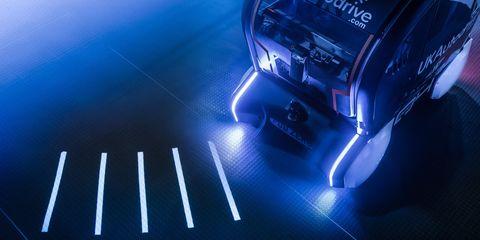 Blue, Light, Lighting, Electric blue, Automotive lighting, Technology,