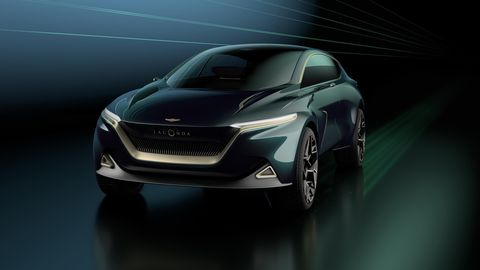 Land vehicle, Vehicle, Automotive design, Car, Auto show, Mid-size car, Concept car, Compact car, Sport utility vehicle, Automotive lighting,