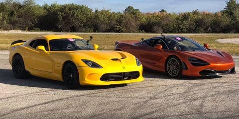 Land vehicle, Vehicle, Car, Sports car, Supercar, Performance car, Coupé, Dodge Viper, Hennessey viper venom 1000 twin turbo, Race car,