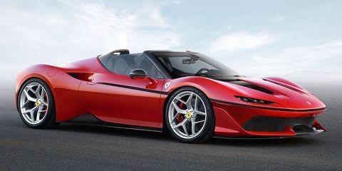 Land vehicle, Vehicle, Car, Supercar, Sports car, Automotive design, Red, Luxury vehicle, Race car, Coupé,