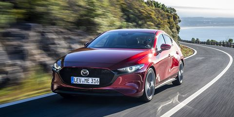 Land vehicle, Vehicle, Car, Automotive design, Mazda, Mid-size car, Performance car, Luxury vehicle, Sedan, Compact car,
