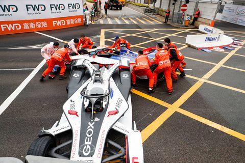 Race track, Formula racing, Vehicle, Pit stop, Motorsport, Endurance racing (motorsport), Race car, Indycar series, Sport venue, Sports prototype,