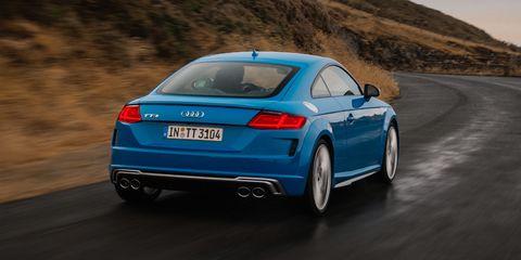 Land vehicle, Vehicle, Car, Audi, Blue, Automotive design, Audi tt, Personal luxury car, Performance car, Sports car,