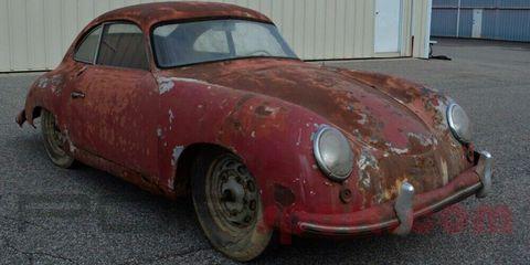 Land vehicle, Vehicle, Car, Classic car, Porsche 356, Coupé, Subcompact car, Sports car, Porsche, Sedan,