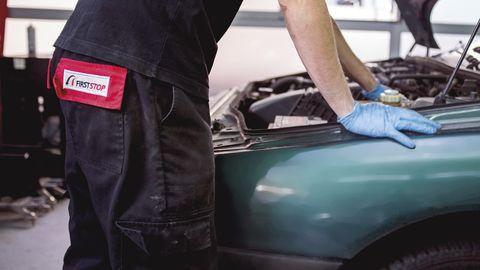 Vehicle, Hood, Motor vehicle, Car, Automotive exterior, Vehicle door, Bumper, Auto part, Auto mechanic, Automotive window part,