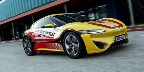 Land vehicle, Vehicle, Car, Automotive design, Sports car, Performance car, Yellow, Supercar, City car, Automotive exterior,