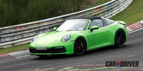 Porsche 911 Targa 2019 Ultimando Sus Detalles