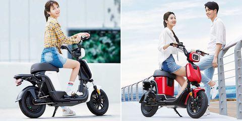 Vehicle, Scooter, Product, Motor vehicle, Mode of transport, Car, Automotive design, Electric vehicle, Motorized scooter, Honda,