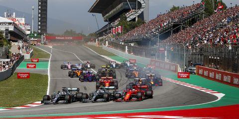 Motorsport, Race track, Vehicle, Formula one, Endurance racing (motorsport), Racing, Sport venue, Sports, Auto racing, Race car,