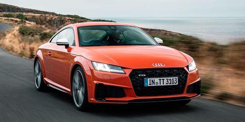 Land vehicle, Vehicle, Car, Audi, Automotive design, Audi tt, Sports car, Coupé, Performance car, Personal luxury car,