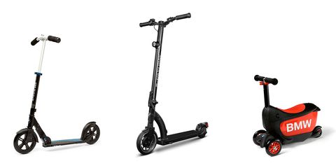 Kick scooter, Vehicle, Scooter, Motorized scooter, Wheel,
