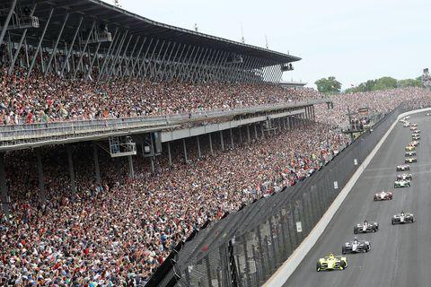 Crowd, Sport venue, Stadium, Race track, Thoroughfare,