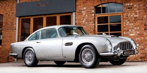 El Aston Martin DB5 de 007 supera las espectativas: vendido por 6,4 millones de dólares