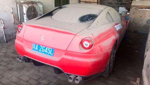 Land vehicle, Vehicle, Car, Automotive design, Supercar, Red, Sports car, Luxury vehicle, Ferrari 599 gtb fiorano, Performance car,
