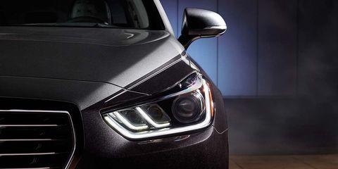 Land vehicle, Vehicle, Car, Headlamp, Automotive design, Automotive lighting, White, Light, Luxury vehicle, Mid-size car,