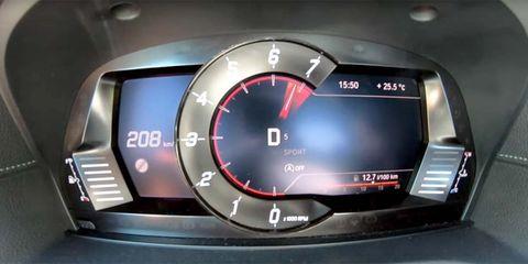 Land vehicle, Vehicle, Car, Auto part, Tachometer, Speedometer, Mid-size car, Measuring instrument, Gauge, Odometer,