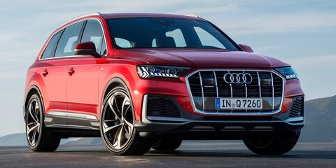Land vehicle, Vehicle, Car, Audi, Motor vehicle, Automotive design, Bumper, Sport utility vehicle, Grille, Audi q7,