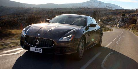 Mode of transport, Automotive design, Vehicle, Mountainous landforms, Performance car, Car, Maserati, Rim, Personal luxury car, Highland,