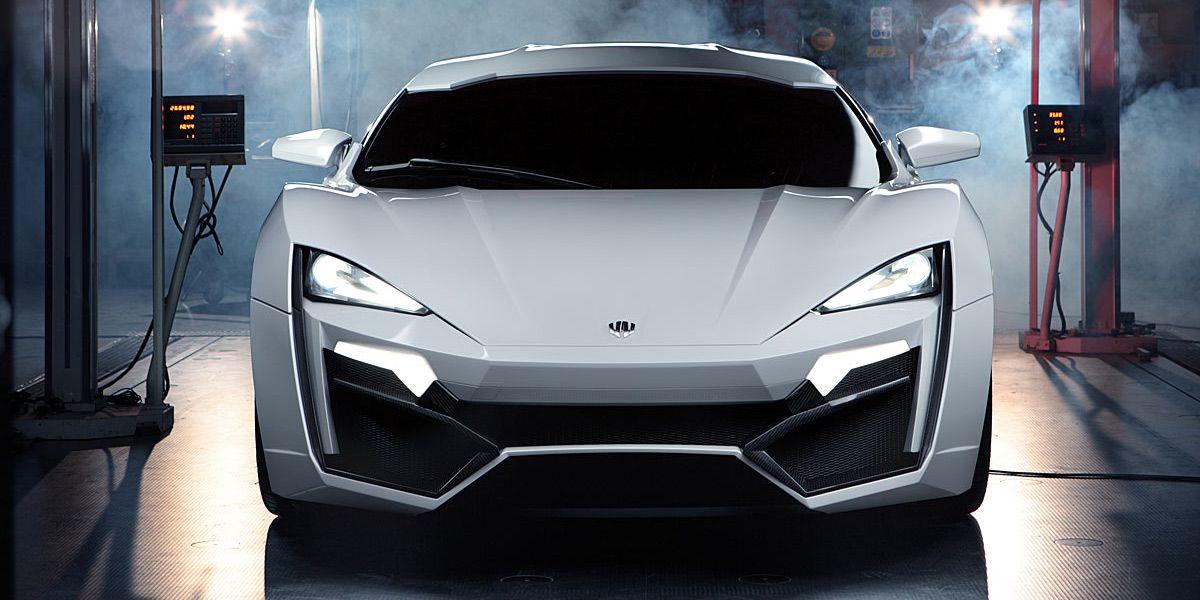 W Motors Lykan Hypersport: El coche más caro del mundo