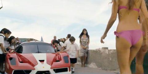 Clothing, Motor vehicle, Leg, Mode of transport, Automotive design, Fun, People, Social group, Human leg, Brassiere,