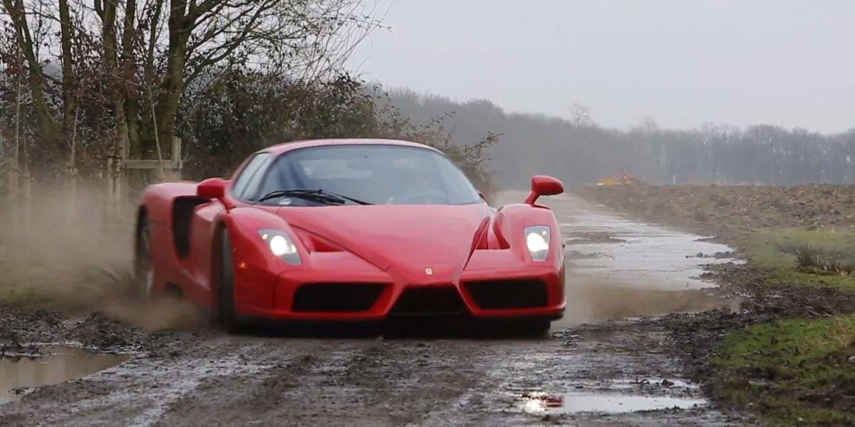 Como Tomar Un Ferrari Enzo Por Un Coche De Rallyes Video
