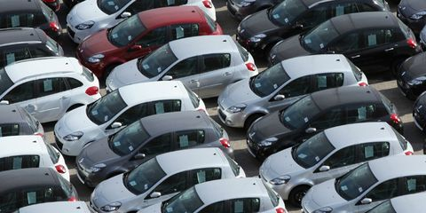 Motor vehicle, Mode of transport, Land vehicle, Automotive design, Vehicle, City, Transport, Car, Automotive parking light, Public space,