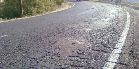 Road, Road surface, Asphalt, Infrastructure, Leaf, Line, Thoroughfare, Concrete, Tar, Sidewalk,