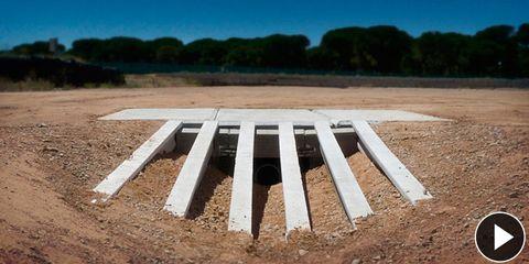 Property, Soil, Plain, Land lot, Concrete, Composite material, Construction, Sand, Field, Daylighting,