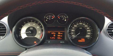 Mode of transport, Speedometer, Red, Tachometer, Orange, Gauge, Amber, Trip computer, Carmine, Black,