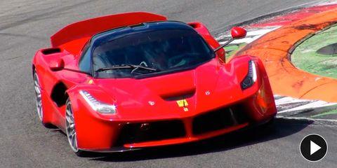 Mode of transport, Automotive design, Vehicle, Hood, Performance car, Red, Automotive exterior, Car, Supercar, Sports car,