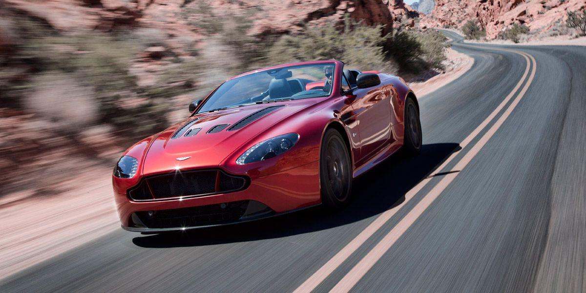 Aston Martin V12 Vantage S Roadster Potencia A Cielo Abierto