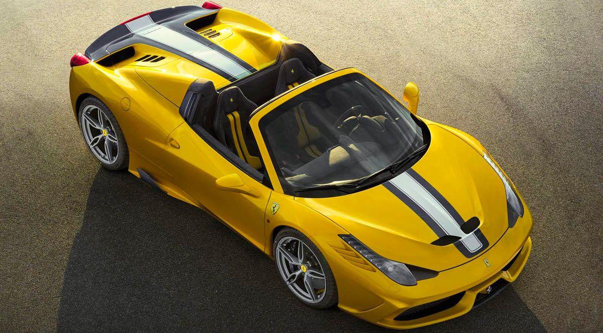 2021 Ferrari 458 Spider Pictures