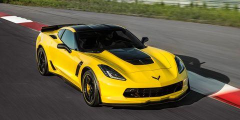 Automotive design, Vehicle, Yellow, Performance car, Road, Supercar, Car, Hood, Asphalt, Sports car,