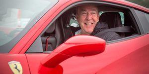 Jeremy Clarkson Ferrari
