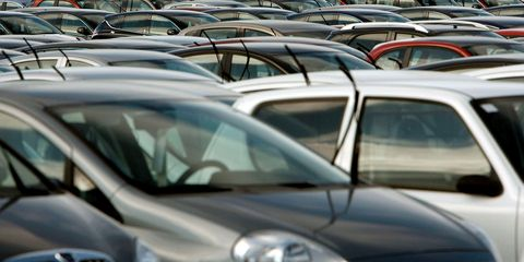 Motor vehicle, Vehicle, Automotive design, Car, Automotive exterior, Glass, Hood, Windshield, Automotive mirror, Parking,