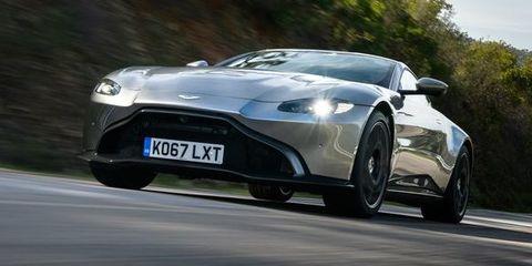 Aston Martin Vantage - frontal