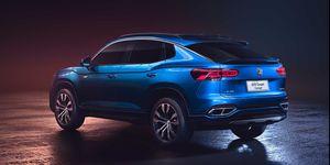 Volkswagen SUV Coupé Concept trasera
