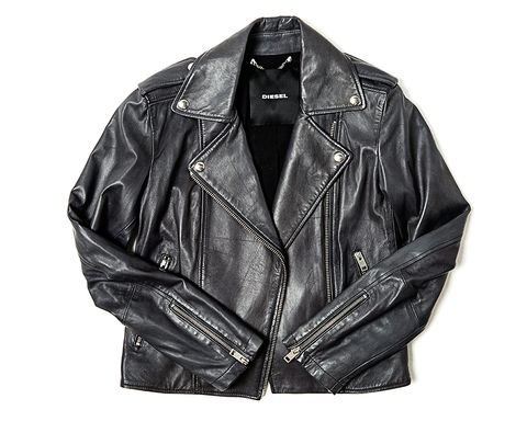 Jacket, Clothing, Leather, Leather jacket, Outerwear, Sleeve, Textile, Top, Zipper,
