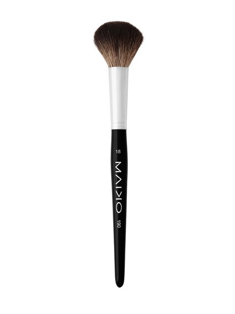 Style, Black, Brush, Makeup brushes, Writing implement, Cosmetics, Silver,