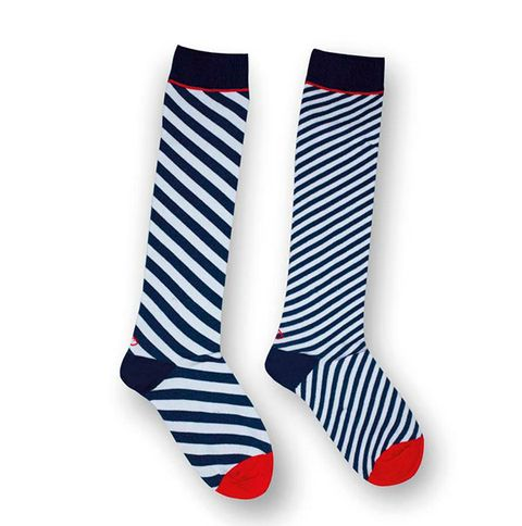 Sock, White, Blue, Product, Red, Footwear, Fashion accessory, Font, Shoe,