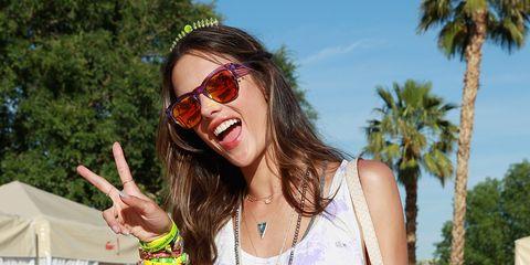 Eyewear, Hair, Sunglasses, Facial expression, Glasses, Cool, Beauty, Summer, Fun, Lip,