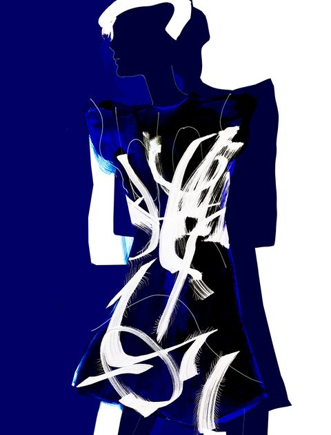 Illustration, Graphic design, Electric blue, Fictional character, Art, Style,