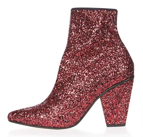 Boot, Red, Carmine, Maroon, Fashion, Pattern, Leather, Fashion design, Synthetic rubber, High heels,