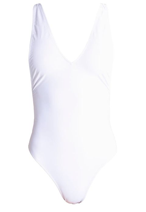 White, Clothing, One-piece swimsuit, Leotard, Swimwear, Maillot, Undergarment, Swimsuit bottom, Briefs, Monokini,